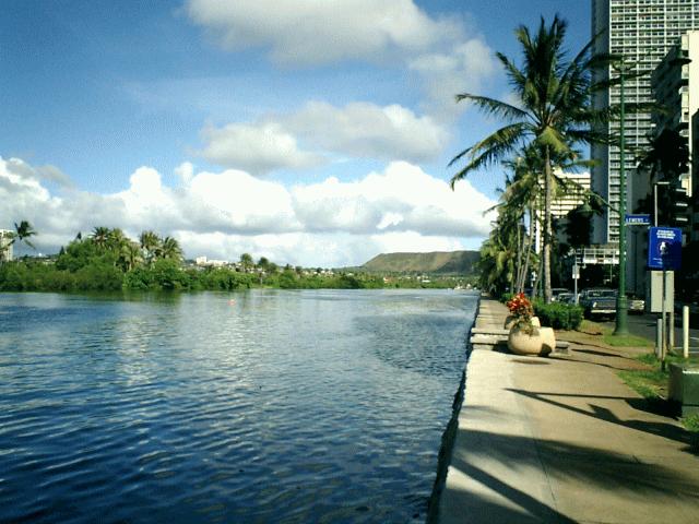 ハワイ アラワイ運河2