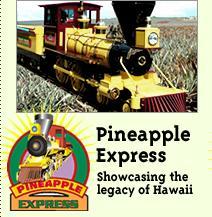 ハワイ ドールプランテーション パイナップル・エクスプレス